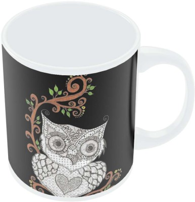 PosterGuy Urban Owl Art Illustration Art Illustration Ceramic Mug