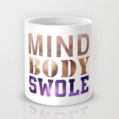 Astrode Mind, Body, & Swole Ceramic Mug