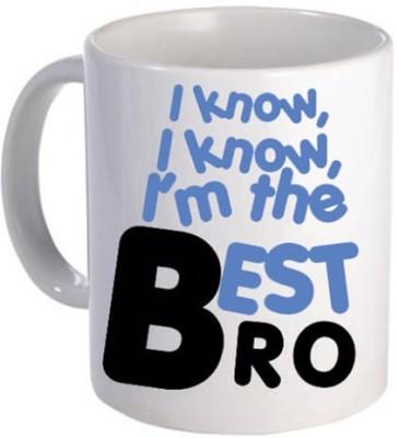 Giftsmate Best Brother Ceramic Mug
