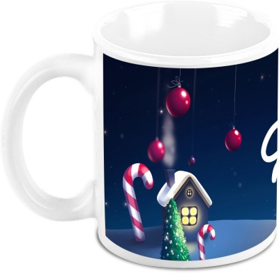 HomeSoGood Its December Its Christmas Ceramic Mug