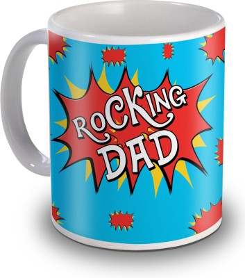 Sky Trends Rocking Dad Gifts For Birthday Ceramic Mug