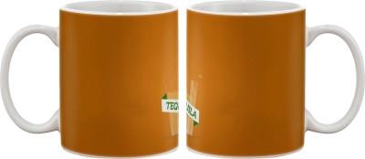 Artifa Tequila Glass Design Porcelain, Ceramic Mug