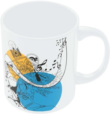 PosterGuy Tune your Mind With Music Music Ceramic Mug