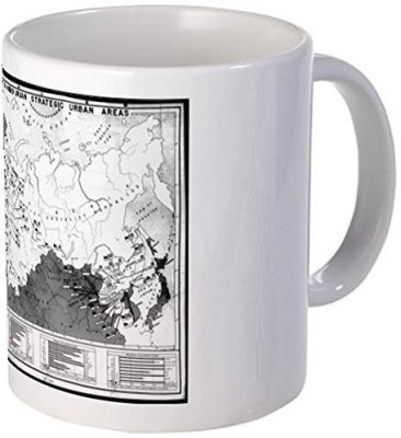 Muggies Magic Mug Soviet nuclear targets (1945) mug S White Ceramic Mug(325 ml)
