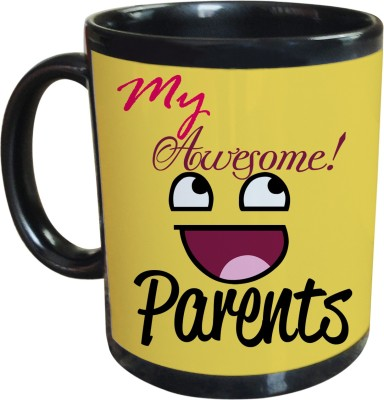 Tiedribbons Special Gift For Mom & Dad _Awesome Parents Ceramic Mug