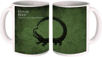 Shopmillions House Reed Ceramic Mug