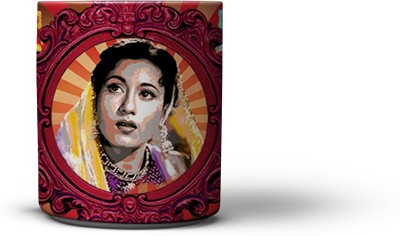 The Nodding Head Actress Madhubala Coffee Ceramic Mug