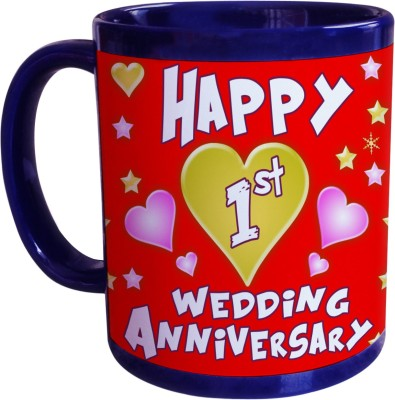 Sajawat Homes 1st Wedding Anniversary Coffee Ceramic Mug