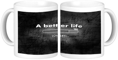 Shopmillions A Better Life Ceramic Mug