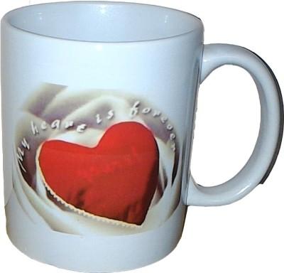 Exxact Heart Is Forever Ceramic Mug