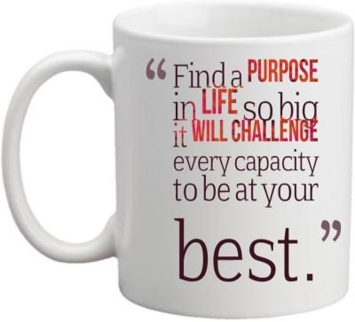Printocare Find a Purpose in LIfe Ceramic Mug
