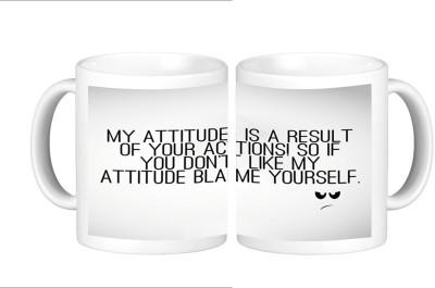 Shopmillions My Attitude Ceramic Mug