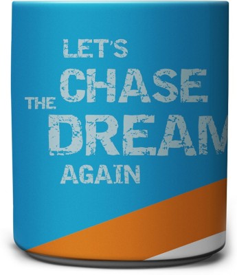 The Indian Cricket World Cup - Lets Chase the Dream Again Ceramic Mug