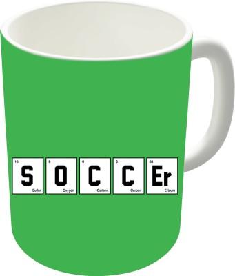 The Fappy Store Soccer Elements Ceramic Mug