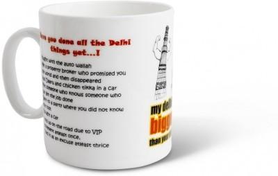 Happily Unmarried Delhi Ceramic Mug