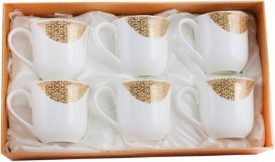 White Gold 2906-178G Porcelain, Copper Mug