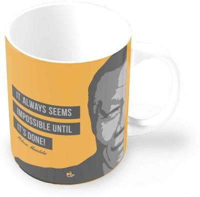 Thinkpot It always Seems Impossible - Nelson Mandela Ceramic Mug