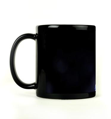 AURRA PRINTED BLACK-043 Ceramic Mug