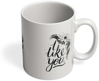 PosterGuy I Like You Valentines Love, Like You, Valentines, Typography, Quotes, Propose, Girlfriend, Gifting, Ceramic Mug