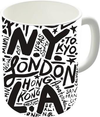 The Fappy Store City Love Ceramic Mug