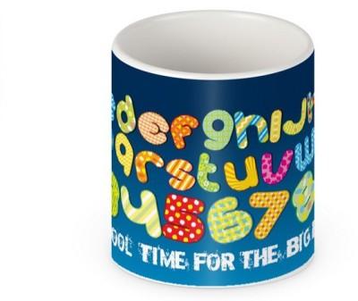 HuesLab School Time For The Big Boy Ceramic Mug