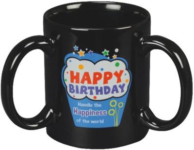 Red Moments Birthday Ceramic Mug