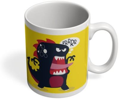 PosterGuy Pop Art Dinosaur Illustration Quirky, Pop Art Ceramic Mug