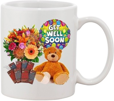Elli Gifts Get well soon coffee mug D72 Ceramic Mug