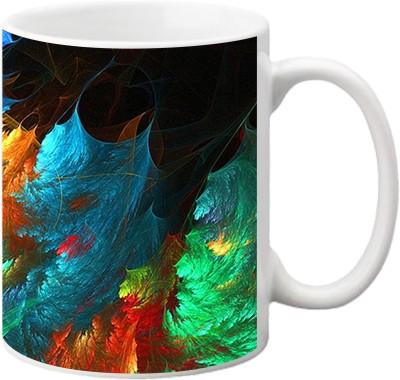 ezyPRNT Abtsract pattern Ceramic Mug