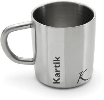 Hot Muggs Me Classic  - Kartik Stainless Steel Mug