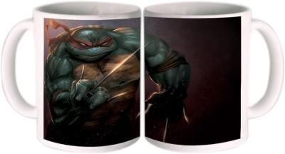 Shopkeeda Angry turtle Ceramic Mug