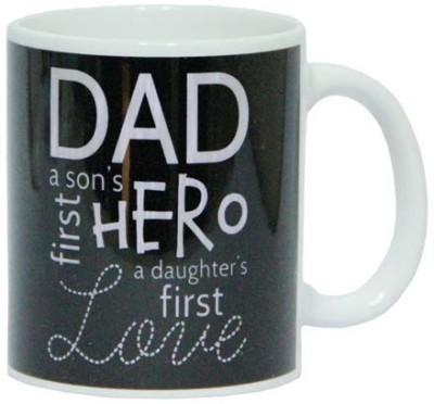 Gifts By Meeta Dad is Hero  Ceramic Mug