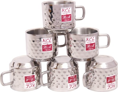 KCL Hammered Stainless Steel Mug