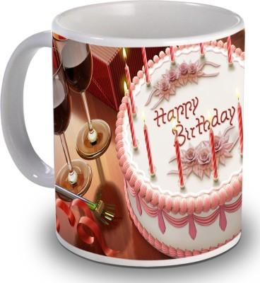 Print Helllo Happy Birthday R183 Ceramic Mug