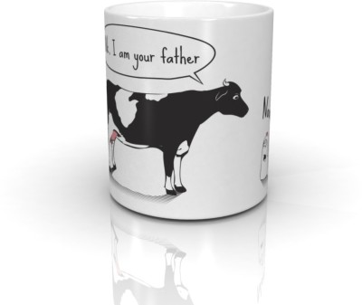 Bcreative Milk, I Am Your Father (Officially Licensed) Ceramic Mug