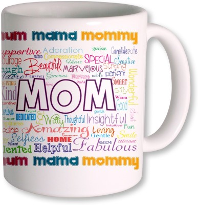 Heyworlds Gift Coffee  for Mother's Day Ceramic Mug