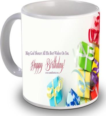 Print Helllo Happy Birthday R142 Ceramic Mug