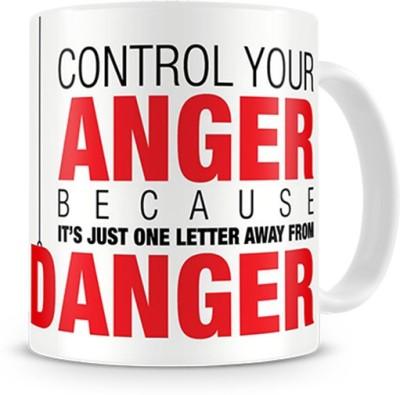 Print Haat Danger Ceramic Mug