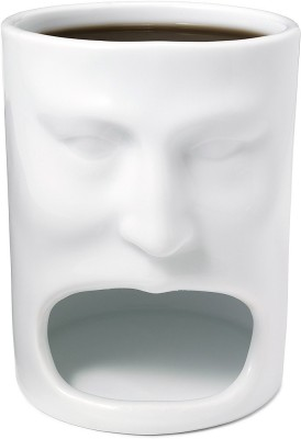 Its Our Studio Cookie Face  Porcelain Mug