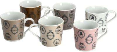Devnow Stoneware Decorative Porcelain Mug