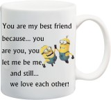 Awwsme We Love Each Other Bone China Mug...