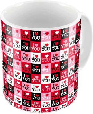 Indiangiftemporium Designer Fancy Printed Coffee  Pair 453 Ceramic Mug