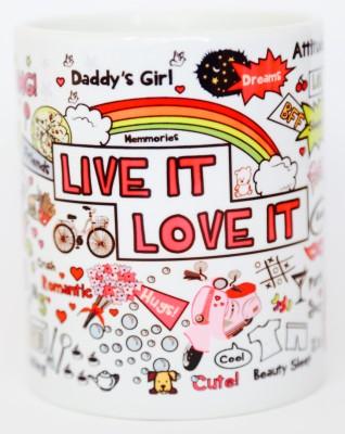 Blitzen 11oz-LILIW Ceramic Mug