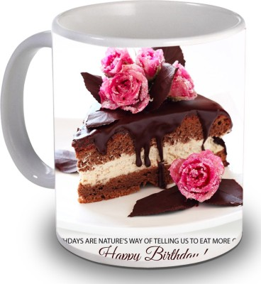 Print Helllo Happy Birthday R172 Ceramic Mug