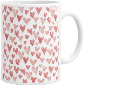 Hainaworld Best Couples Heart Coffee  Ceramic Mug