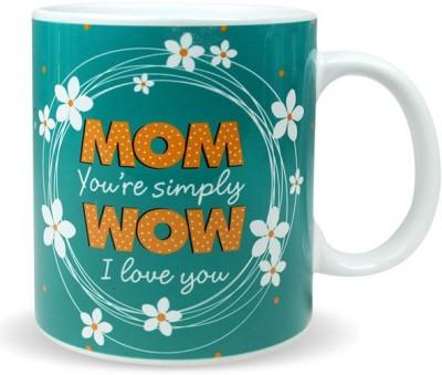 Archies Simply Wow Mom Greeting  Ceramic Mug