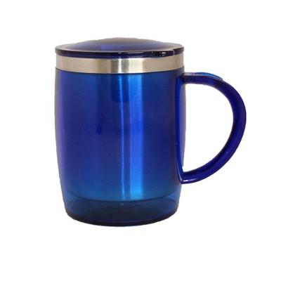 Plastron Barrel  ( Blue ) Plastic Mug