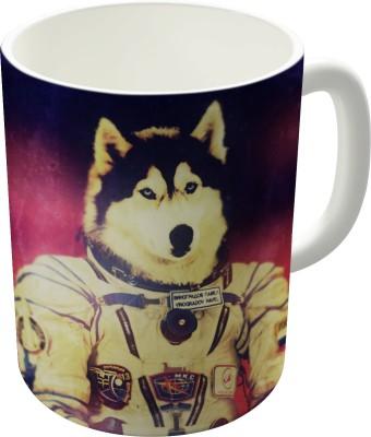 Dreambolic Cosmonaut Ceramic Mug
