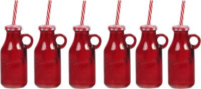 Zido Colorful Designer Mason Jar Glass Mug
