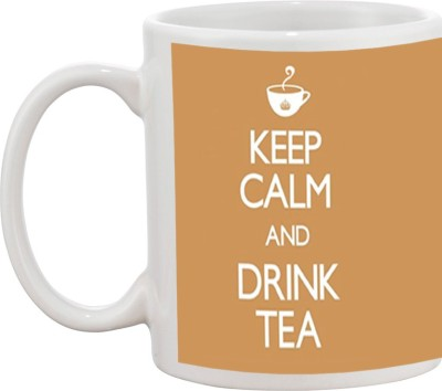 Tia creation Keep Calm And Drink Tea Ceramic Mug